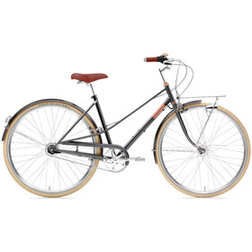 Creme Caferacer Doppio 7-speed Dames, sparkling black copper